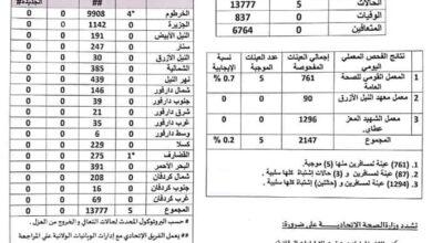 Photo of دون تسجيل وفيات .. السودان: (32) إصابة جديدة بـ (كورونا)