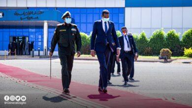 Photo of حميدتي ووزير الخارجية ومدير المخابرات إلى تشاد
