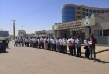 Photo of رفضاً لقرارات لجنة إزالة التمكين .. وقفة احتجاجية للعاملين بقطاع الكهرباء