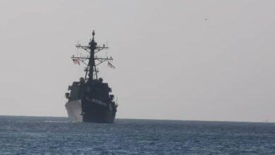 Photo of سفينة حربية أمريكية تصل بورتسودان